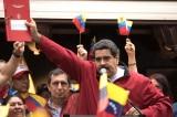 """Nhà độc tài Nicolas Maduro ăn mừng: """"Chúng tôi đã đánh bại ông Trump"""""""