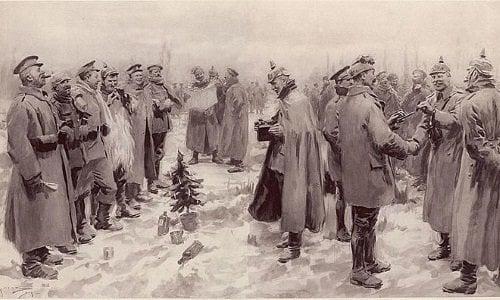 Sự kiện Giáng sinh lịch sử làm thay đổi quan niệm về chiến tranh