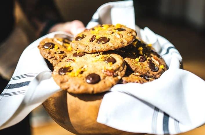 Hướng dẫn làm món bánh quy socola ăn vặt ngon-bổ-sạch-ít béo
