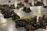 Hàng nghìn Vệ binh Quốc gia phải rời Điện Capitol, buộc phải ngủ trong hầm đậu xe