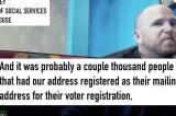 Video tiết lộ hàng ngàn người đăng ký cử tri chung địa chỉ tại Georgia