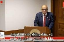 Giuliani: Đây là vấn đề có dám không?