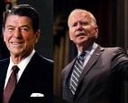 Sự khác biệt trong diễn văn nhậm chức của ông Reagan và ông Biden