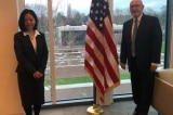 Đại sứ Mỹ tại Hà Lan tiếp đại diện của Đài Loan tại đại sứ quán