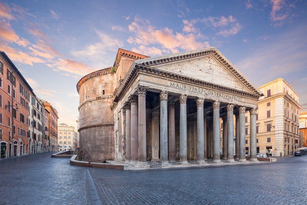 Pantheon, thanh rome