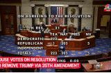 Hạ viện bỏ phiếu thông qua nghị quyết yêu cầu PTT Pence viện dẫn Tu chính án 25