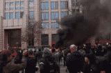 Hàng trăm kẻ bạo loạn phá hủy tài sản, phóng hỏa trong Lễ nhậm chức 2017 của TT Trump