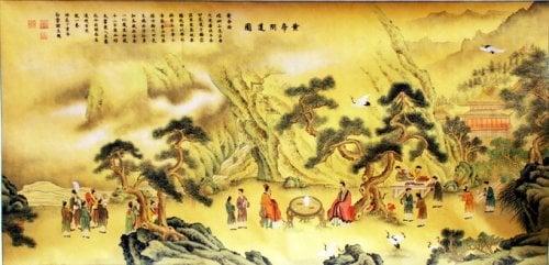 Hoàng Đế học được cách tu đạo của tiên nhân Quảng Thành Tử rồi đắc đạo vào năm 120 tuổi, bay lên thành rồng.