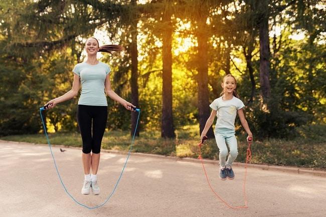 thể thao, nhảy dây