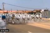 Video đội phun thuốc khử trùng hùng hậu ở Hà Bắc TQ gây lo lắng