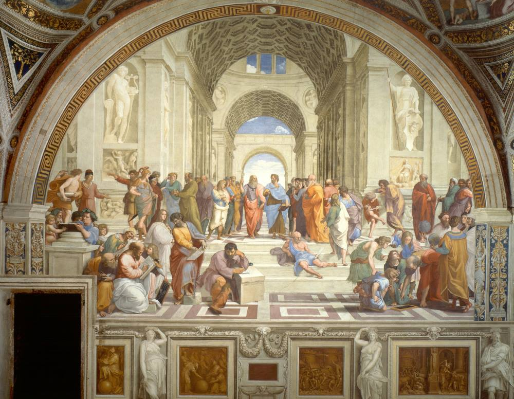 Tìm hiểu nghệ thuật Phục Hưng: Tuyệt tác các căn phòng Raphael – Kỳ II: Nhân loại kiếm tìm chân lý