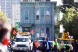 San Francisco: Ngôi nhà 139 năm tuổi di chuyển trên đường phố