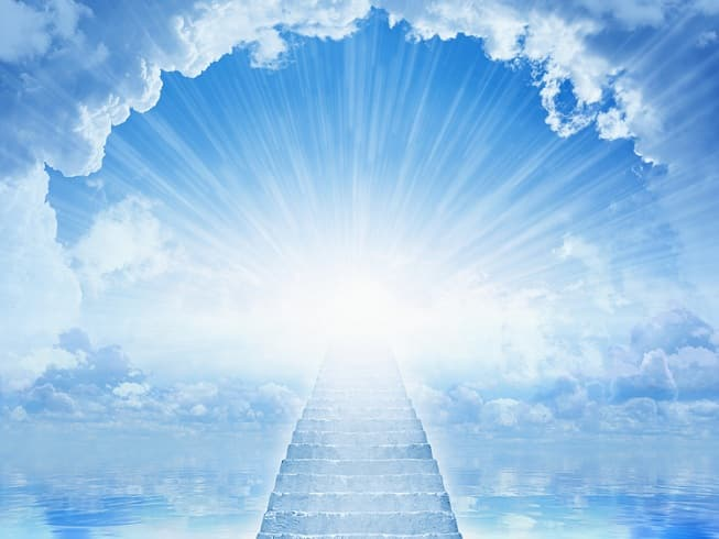thiên đường, trải nghiệm cận tử