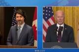 Biden-Trudeau lên 'lộ trình' cam kết chống phân biệt chủng tộc và biến đổi khí hậu