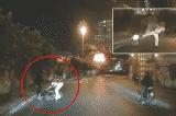 TP.HCM: Cảnh sát giao thông dùng 'võ ngành' khiến người đi xe máy té ngã