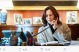 Bà Harris đảm nhận vai trò tổng thống khi điện đàm với các nguyên thủ quốc gia