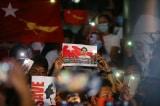 Hàng chục nghìn người biểu tình phản đối cuộc đảo chính ở Myanmar bất chấp Internet bị cắt