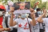 Người biểu tình Myanmar lên án chính quyền độc tài quân sự do TQ gây ra