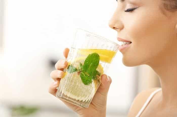 uống nước chanh, nước chanh