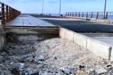 Cảng Bến Đình gần 260 tỷ đồng ở đảo Lý Sơn chưa hoạt động đã rạn nứt