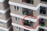 Người tài xế chở hàng cứu sống thần kỳ bé 3 tuổi rơi từ tầng 12