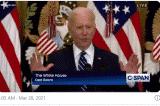 5 khoảnh khắc 'bối rối' nhất của TT Biden trong cuộc họp báo hôm 25/3
