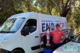 """Đoàn xe mang biểu ngữ """"Kết thúc Ác ma Trung Cộng"""" tại Úc"""