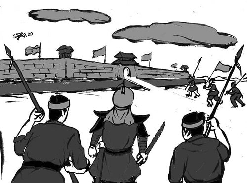Chuyện Đinh Kiến khởi nghĩa tại An Nam chống nhà Đường