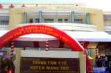 Vĩnh Long: Trung tâm y tế hơn 234 tỷ đồng chưa hoạt động đã bị lún, nứt
