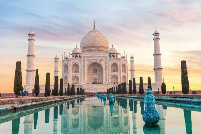 den Taj Mahal