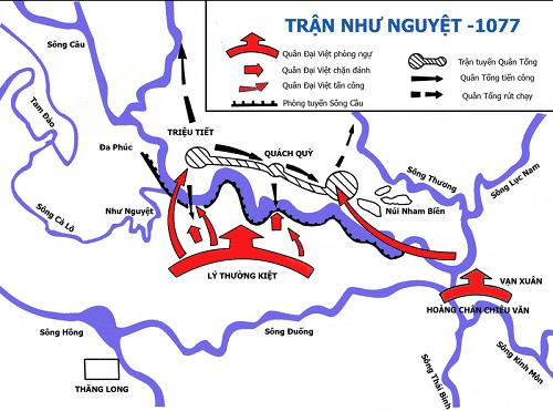 """Trận sông Như Nguyệt đưa Đại Việt thoát cảnh """"ngàn cân treo sợi tóc"""""""