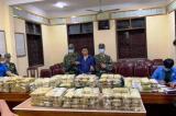 Tài xế chở hơn 220 kg ma túy bị bắt giữ tại Nghệ An