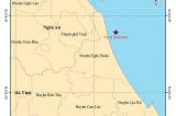 Động đất 3 độ Richter ngoài khơi vùng biển Hà Tĩnh