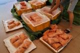 600kg tràng trứng gà non bốc mùi bị phát hiện tại Hà Nội