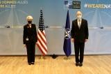 Mỹ và EU thảo luận về các động thái lo ngại của TQ ở Tân Cương, Hồng Kông, biển Đông