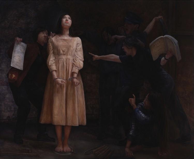 Tâm sự của người họa sĩ đằng sau một bức tranh về đức tin kiên định