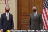 Ngoại trưởng Mỹ và Anh nói G7 không kiềm chế TQ, muốn ổn định với Nga