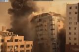 Israel: Tòa nhà trúng bom không phải để làm truyền thông, mà là trụ sở của Hamas