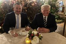 TNS Ted Cruz gặp ông Trump và thảo luận về giành lại Quốc hội