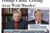 Donald Trump nói với Newsmax TV: Trung Quốc 'đang thoát tội'