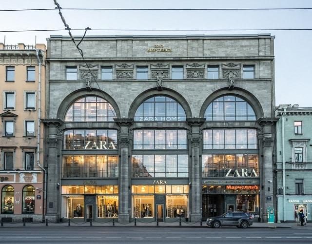 cửa hàng Zara