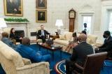 TT Biden và PTT Harris gặp gia đình George Floyd tại Nhà Trắng