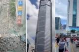 Tòa nhà 79 tầng tại Thâm Quyến rung lắc, người dân vội vã thoát thân