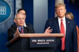 Ông Trump: Ông Fauci không phải khoa học, mà là khoa học gia viễn tưởng