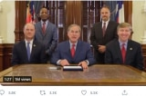 Thống đốc Abbott ký thành lập 'Dự án 1836' thúc đẩy giáo dục yêu nước tại Texas