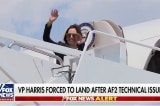 Máy bay chở PTT Kamala Harris phải hạ cánh khẩn cấp