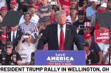 """Vận động ở Georgia: Ông Trump hứa hẹn """"chiến thắng vẻ vang vào năm 2024"""""""