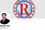 """Thành viên cấp cao RNC cá cược """"Đổng Kinh Vĩ được Cục Tình báo Quốc phòng Mỹ bảo đảm"""""""