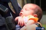 Viên cảnh sát trẻ cứu sống em bé sơ sinh bị ngạt thở