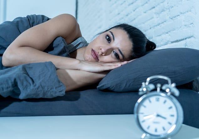 suy nghĩ bộn bề, mất ngủ